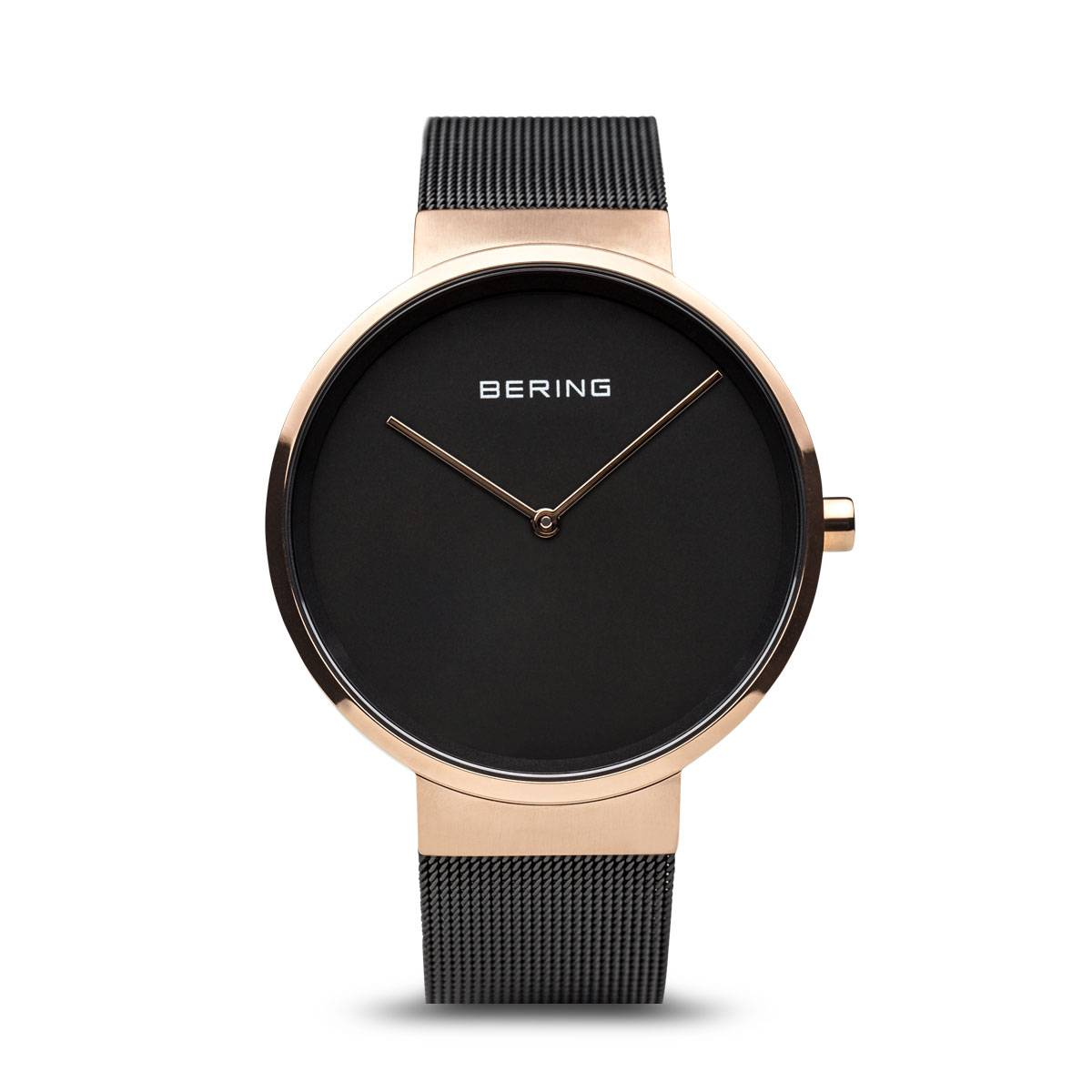 Classic Casual Watch - Gold/Black