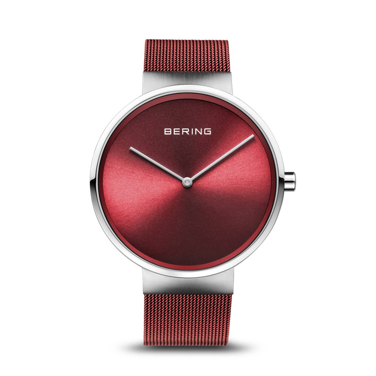 Classic Casual Watch - Red