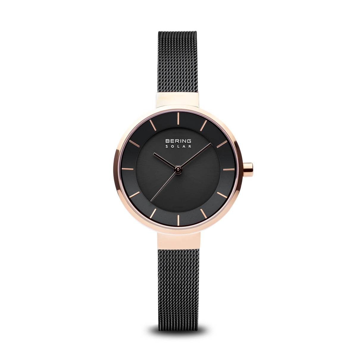 Classic Casual Watch - Black/Rose